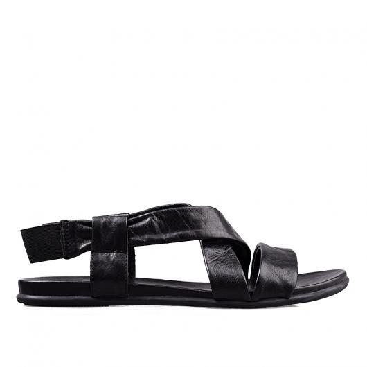 Черни дамски ежедневни сандали kira21