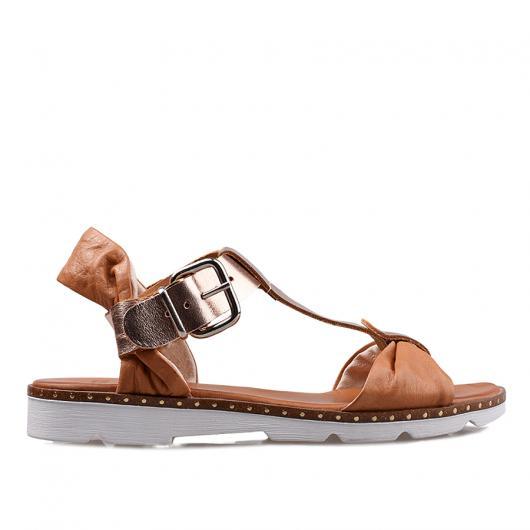 Кафяви дамски ежедневни сандали allyda21
