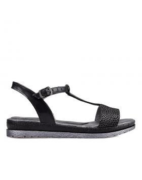 Черни дамски ежедневни сандали 1816 в online магазин Fashionzona