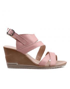 Розови ежедневни сандали 269/15462 в online магазин Fashionzona