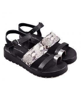 Черни дамски сандали 1095 в online магазин Fashionzona