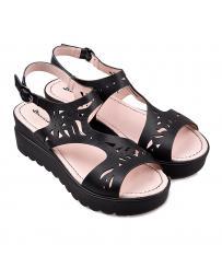 Черни ежедневни дамски сандали Carissa в online магазин Fashionzona