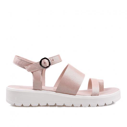 6dcf025c5c7 Розови ежедневни дамски сандали Augusta ⋙ на цена 41,93 лв — Fashionzona
