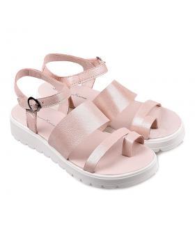 Розови ежедневни дамски сандали 1095 в online магазин Fashionzona