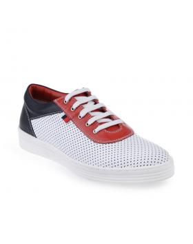 дамски ежедневни обувки бели 0124443 в online магазин Fashionzona