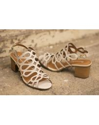 Бежови дамски ежедневни сандали Trinity в online магазин Fashionzona