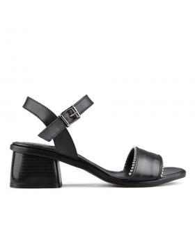 Черни дамски ежедневни сандали 0134704 в online магазин Fashionzona