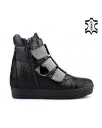 Черни дамски ежедневни боти Ashe в online магазин Fashionzona