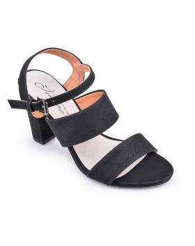 Черни дамски елегантни сандали 0134067 в online магазин Fashionzona