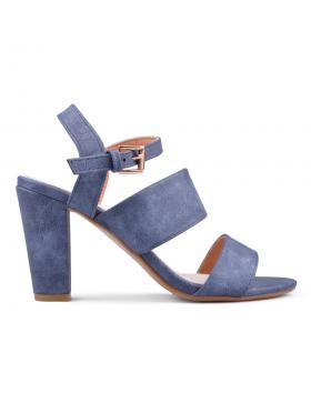 Сини дамски елегантни сандали 0134068 в online магазин Fashionzona