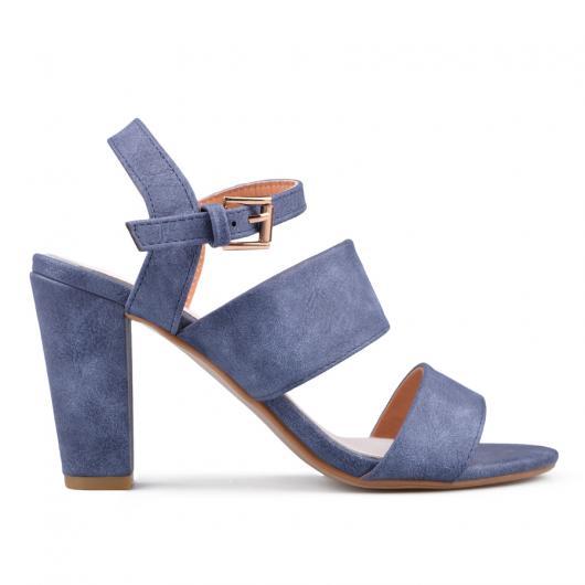 Сини дамски елегантни сандали 0134068