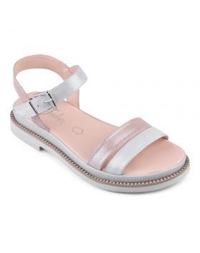 Розови дамски ежедневни сандали 0135013 в online магазин Fashionzona