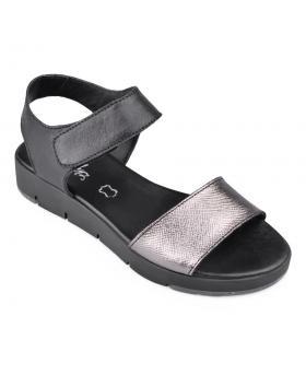 Черни дамски ежедневни сандали Cheralin в online магазин Fashionzona