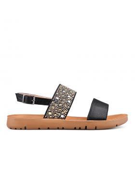 Черни дамски ежедневни сандали 0133957 в online магазин Fashionzona
