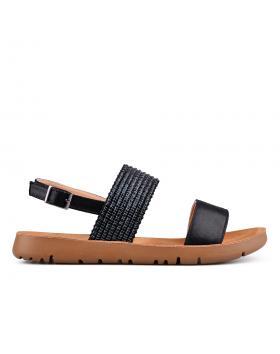 Черни дамски ежедневни сандали 0133970 в online магазин Fashionzona