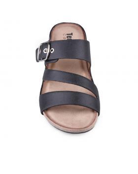Черни дамски ежедневни чехли Leeann в online магазин Fashionzona