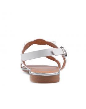 Бели дамски ежедневни сандали 0134463 в online магазин Fashionzona