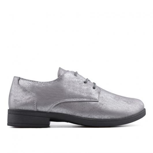 Сребристи дамски ежедневни обувки 0133877