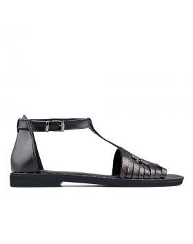 Черни дамски ежедневни сандали 0136198 в online магазин Fashionzona