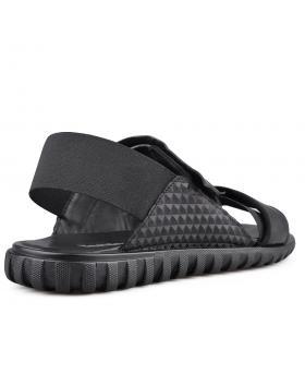 Черни мъжки сандали 0134754 в online магазин Fashionzona