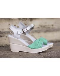 Зелени дамски ежедневни сандали Sariah в online магазин Fashionzona