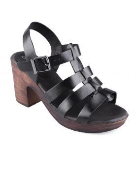 Черни дамски ежедневни сандали Alyss в online магазин Fashionzona