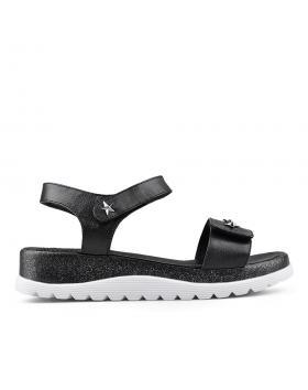 Дамски ежедневни сандали черни 0135044 в online магазин Fashionzona