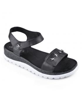 Дамски ежедневни сандали черни Janaea в online магазин Fashionzona