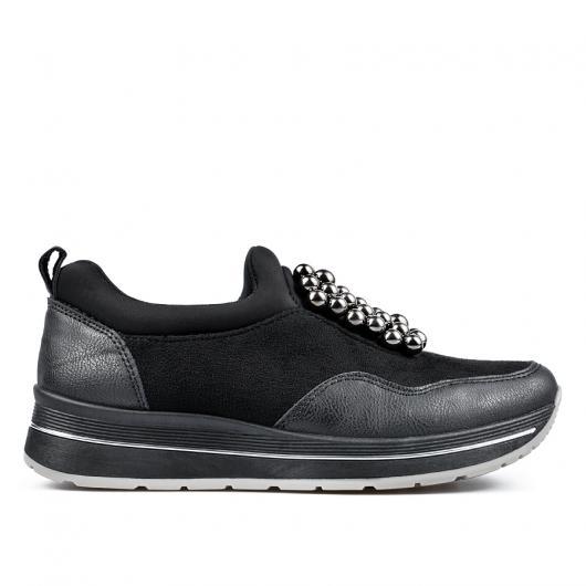 Черни дамски ежедневни обувки 0135151