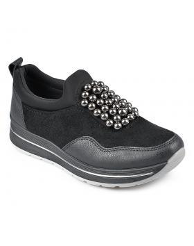 Черни дамски ежедневни обувки Adele в online магазин Fashionzona