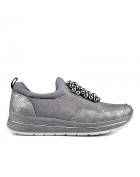 Сиви дамски ежедневни обувки 0135152 в online магазин Fashionzona