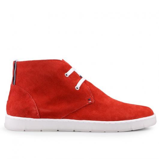 Червени ежедневни мъжки обувки Jorge