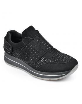 Черни дамски ежедневни обувки Claretta в online магазин Fashionzona