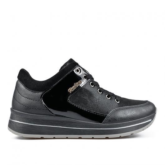 Черни дамски ежедневни обувки 0135157