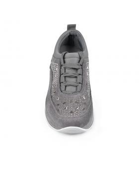 Сиви дамски ежедневни обувки Gianna в online магазин Fashionzona