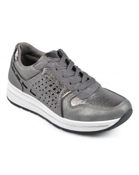Сиви дамски ежедневни обувки Billie-Jean в online магазин Fashionzona