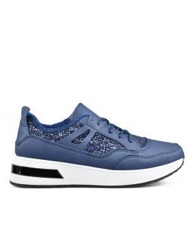 Сини дамски ежедневни обувки Lalia в online магазин Fashionzona