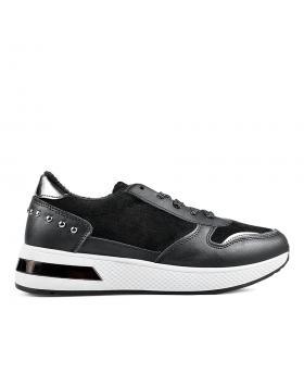 Черни дамски ежедневни обувки Santa в online магазин Fashionzona