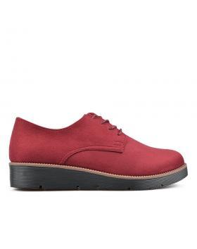 Червени дамски ежедневни обувки 0135128 в online магазин Fashionzona