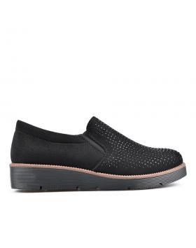 Черни дамски ежедневни обувки 0135129 в online магазин Fashionzona