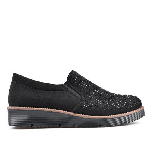 Черни дамски ежедневни обувки Ridhi