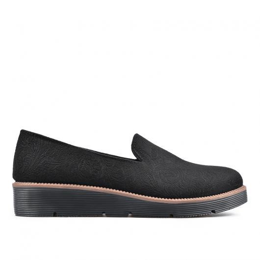 Черни дамски ежедневни обувки Racquell