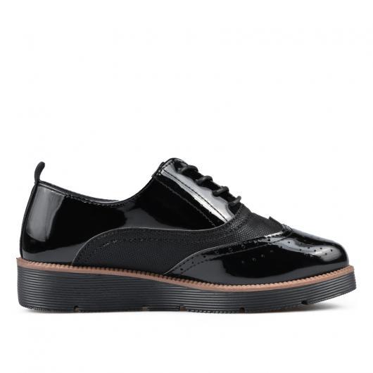 Черни дамски ежедневни обувки 0135133