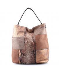 Кафява дамска ежедневна чанта Camille в online магазин Fashionzona