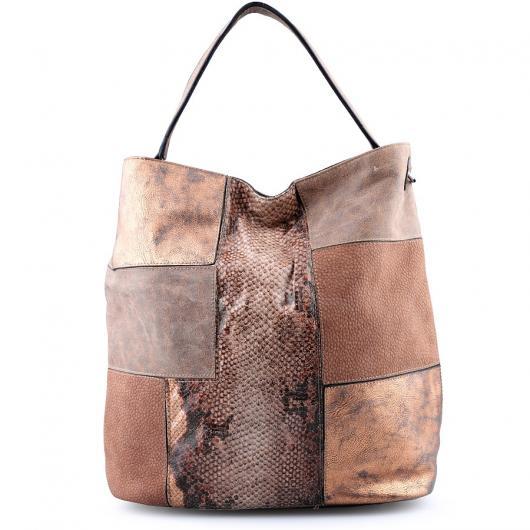 Кафява дамска ежедневна чанта Camille