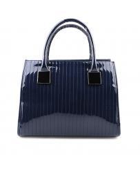 Синя дамска ежедневна чанта Ginessa в online магазин Fashionzona