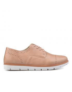 Бежови дамски ежедневни обувки 0135834 в online магазин Fashionzona