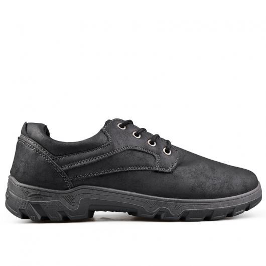 Черни мъжки ежедневни обувки Ronaldo