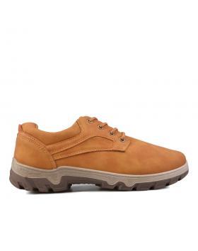 Кафяви мъжки ежедневни обувки 0135109 в online магазин Fashionzona