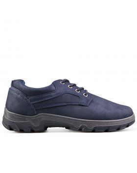 Tъмно сини мъжки ежедневни обувки 0135108 в online магазин Fashionzona